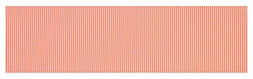 ESPRIT 70477-050-40-140 Stripe Tischläufer, Polyester, Weiß, 140 x 40 cm