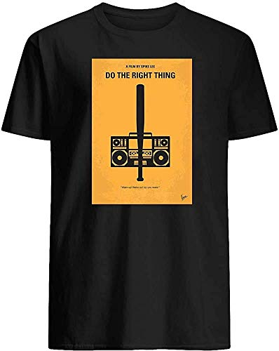 Vintage T-Shirts #Do The Movie #Right Thing Minimal Film Poster Cassette Radio Funny Meme Movie Costume Unisex T-Shirt Love T-Shirt