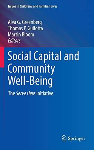 Social Capital and Community Well-B…