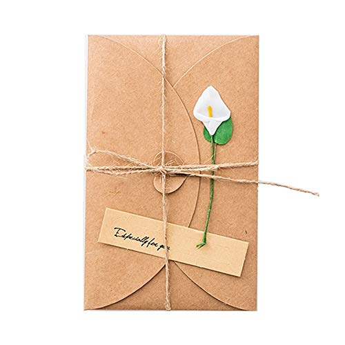 3D Greeting Cards postcard Floral Style postcard 3D Flower Pop Up Card Birthday Happy Card Special Greeting Card 4