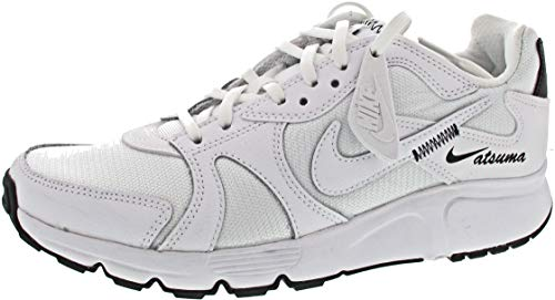 Nike Damen Atsuma Laufschuh, Blanco/Negro, 38.5 EU