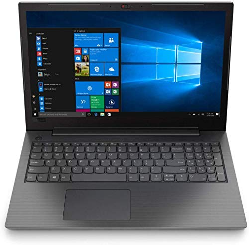 Lenovo Notebook (15,6 Zoll), AMD A4-9125 Dual Core 2 x 2.60 GHz, 4 GB DDR4 RAM, 256 GB SSD, HDMI, R3 Grafik, Webcam, Windows 10 Pro