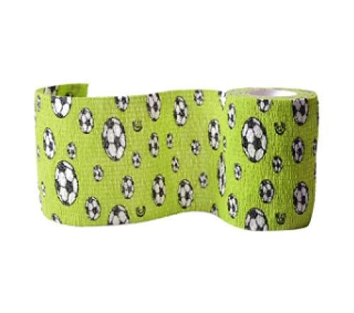 XXYQ 3 Stück/Set Muskelschutz-Werkzeug Pflege Bandage Band Sport Elastisches Band Bandage Kawaii Muster Bunte Sport Bandage-A_7.5cm * 4.5m