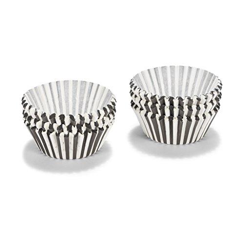 Patisse 1734 Papier-Cup-Cake-Förmchen, schwarz / weiß 200 Stück