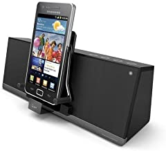 iLuv iMM377BLK MobiAir Bluetooth Stereo Speaker Dock for Smartphones with Micro-USB Charging, Black photo