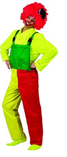 Halloweenia - Bunte Latzhose für das perfekte Kostüm für Frauen, XL, Mehrfarbig