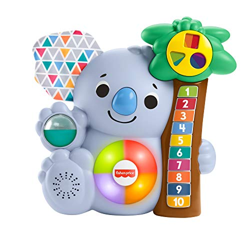Fisher-Price GRG67 - BlinkiLinkis zählender Koala, musikalisches Kinderspielzeug von Fisher-Price