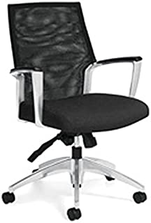 Global Accord Multi-Tilter Mid-Back Chair, 37 1/2