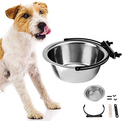 YYhkeby Cat Wasser Bowl Puppy Schüsseln Klein Groß Hundenapf Hundefutter und Wasser Bowl Katze Futternapf Hundebox Wasserspender Hundenäpfe Medium 17cm Jialele (Size : 17cm)