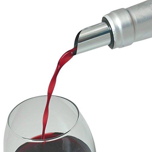 -Homeworld- - Inserire Senza Goccia. Beccuccio per Vino (Confezione da 10 Pezzi), sgocciolatoio, salvagoccia, versatore, Accessori per Vino, Disco per Vino #1