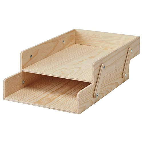 KLÄMMEMACKA brevfack, naturlig plywood