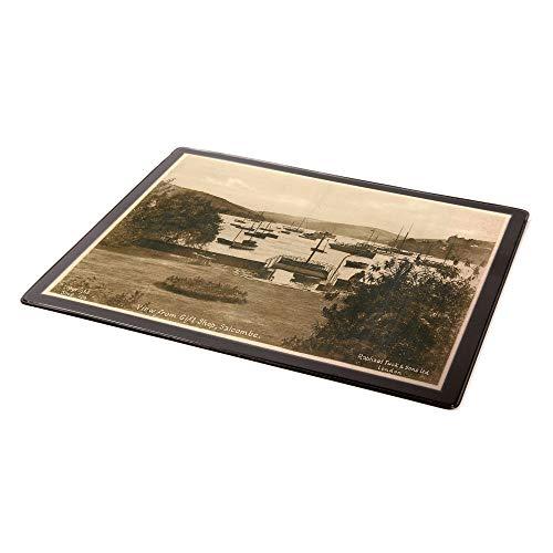 Salcombe Mauspad, Vintage-Design, Motiv: Devon, Ansicht aus dem Geschenk-Shop,