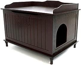 Designer Catbox Litter Box Enclosure in Espresso