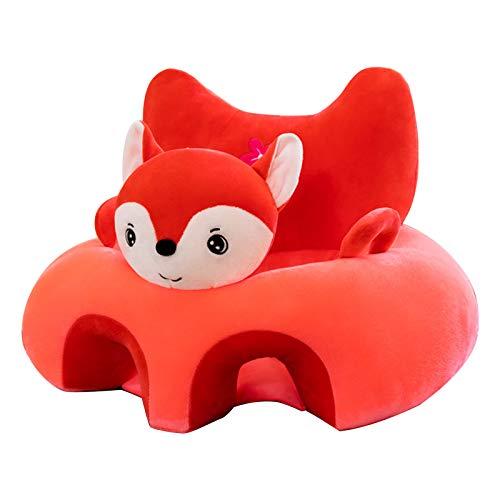 xishan Lowral - Sofá de asiento de bebé con dibujos animados, silla de aprendizaje infantil