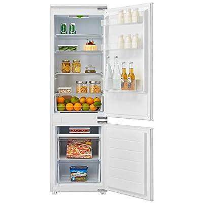 Cookology CBIFF70301 70/30 Integrated Frost Free Combi Fridge Freezer Refrigerator | Metal Back