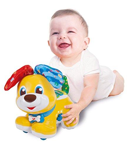 Clementoni Dog Baby Peekaboo Cane, Multicolore, 61600