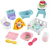 Fisher-Price Little People Babies Love & Care Gift Set, Figure and Accessories Set for Toddlers and Preschool Kids Ages 1 ½ 5 Years