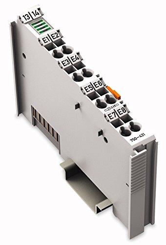 Digitale Eingangsklemme 8-Kanal DC24V 0.2ms 750-431,Digit. IO Komp. SPS,WAGO Kontakttechnik,750-431,4045454392857