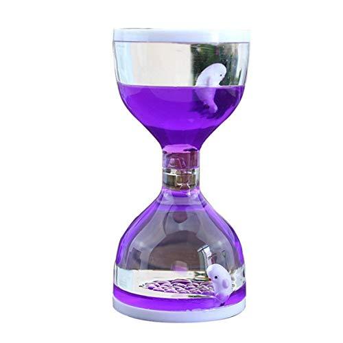 Rouku Movimiento líquido Bubbler Flotante Temporizadores