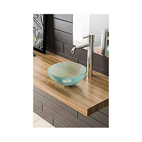Melkglasschaal/opzetschaal/badkamer/glazen waskom Ø 31/waskom