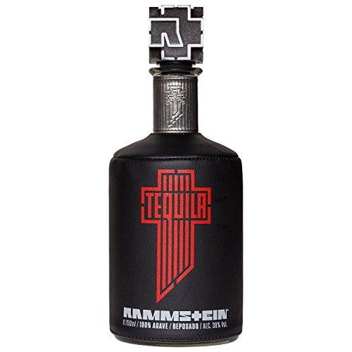 Rammstein Tequila Reposado Agave (1 x 0.7 l), Offizielles Band Merchandise Fan Getränk Schnaps Alkohol Geschenk