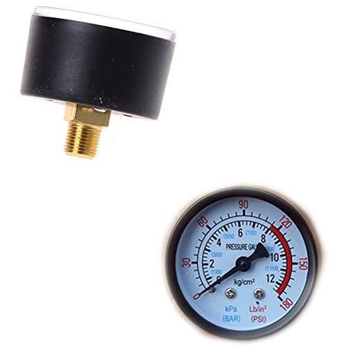 LIXUDECO Indicador de presión COMPRESOR DE Aire PRESIÓN HIDRAULICA PRESIÓN HIDRAULICA Principal 0-12BAR / 0-180PSI