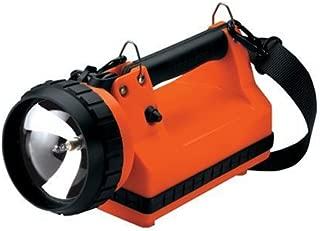 Streamlight 45110 LiteBox Standard System 20-Watt Spot Bulb with 120V AC/12V DC Charger, Shoulder Strap and Mounting Rack, Orange