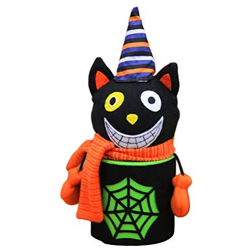 KiMiLIKE Halloween Keksdose Halloween Black Cat/Zombie/Ghost Süßigkeit Keks Box Home Shopping Mall Dekoration für Halloween-Party