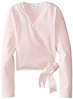 Capezio Big Girls' Classics Wrap Top, Pink, Medium (B00E7FPF5Y)   Amazon price tracker / tracking, Amazon price history charts, Amazon price watches, Amazon price drop alerts