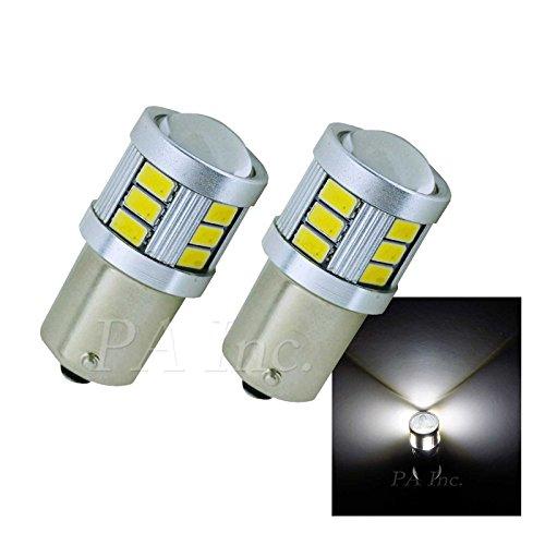 PA 2 x Blanc 1156 BA15S 18–5630 LED Car Turn Signal Light direction ampoule lampe