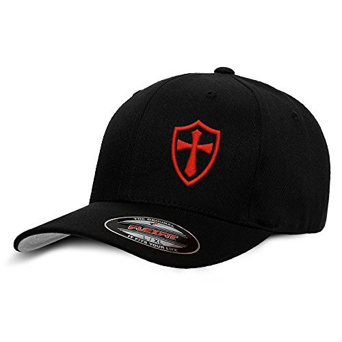 Crusader Knights Templar Cross Baseball Hat 9efe54e1455e
