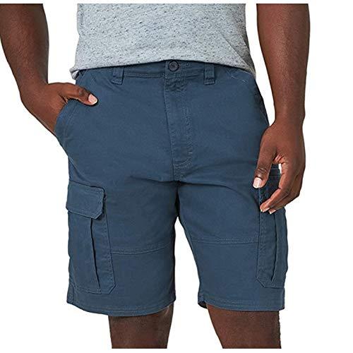ZEZKT Pantalones Cortos Casuales de Cinco Puntos EláSticos de Bolsillo Para NiñOs Shorts Cargo para Hombre Hombres Cargo Shorts Hombre PantalóN Corto Tipo Militar De AlgodóN