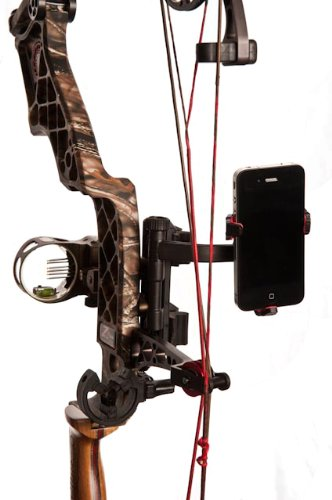 S4 Gear JackKnife Smartphone Crossbow iPhone, Samsung, Galaxy Bow Mount for Filming your Hunt