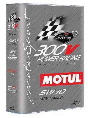 Motul 300V 5W30 'POWER RACING' Oil 2L (2.1 qt.)