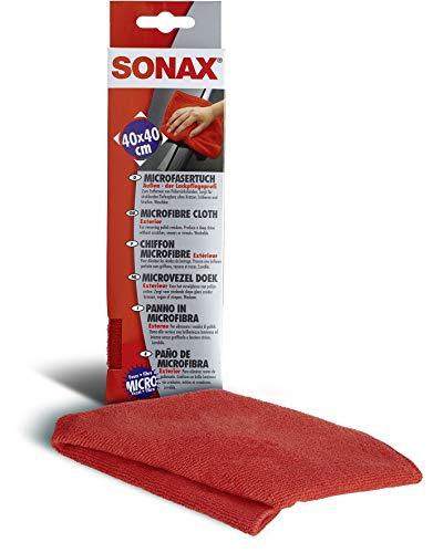 SONAX No de artículo 04162000 Paño de microfibra para exterior, el profesional del cuidado de la pintura (1 unidad)