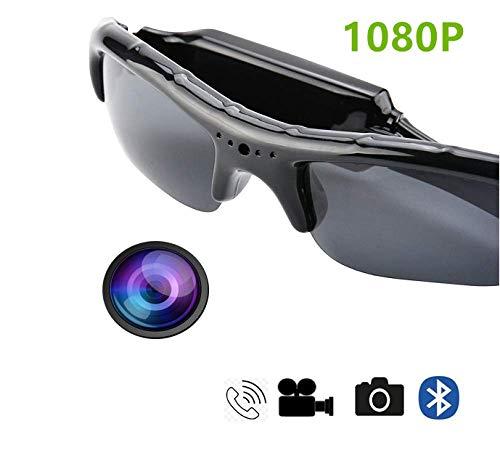 SDRFSWE Fotocamera Bluetooth Een bril 108P HD camera-audio-zonnebril met bluetooth hoofdtelefoon 16 GB TF-kaartrecorder zonnebril met camera voor iOS en Android
