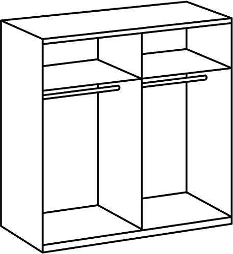 Wimex Kleiderschrank/ Schwebetürenschrank Enter, (B/H/T) 180 x 198 x 64 cm, Weiß