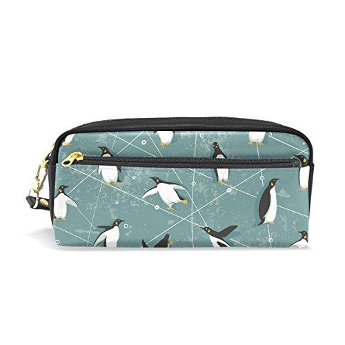 bennigiry Pinguin Schule Bleistift Tasche für Kinder, Kinder großes Fassungsvermögen Stifthalter Langlebig Stationery Pouch Bag