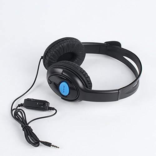 Headset Draagbare Wired Gaming met Microfoon Volume Control Hoofdtelefoon 3.5mm Audio Jack Voor PS4 Online Spel Spelen Gebruik