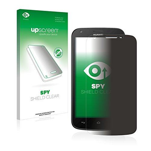 upscreen Anti-Spy Blickschutzfolie kompatibel mit Huawei Ascend Y600 Privacy Screen Sichtschutz Bildschirmschutz-Folie