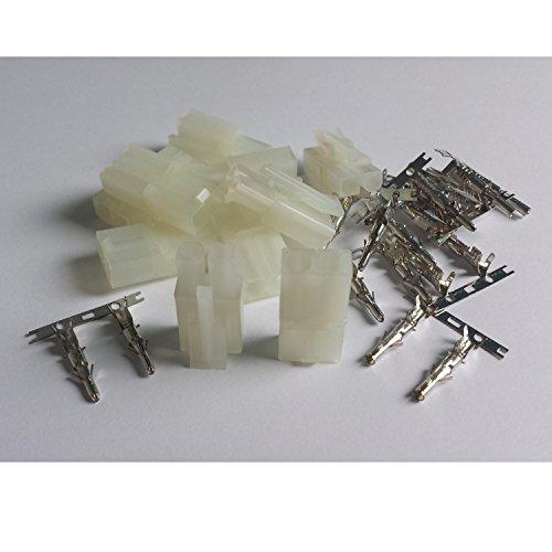 MR-Onlinehandel ® 5 Paar (10 Stück) Tamiya kompatible Stecker + Buchse - Crimp Set
