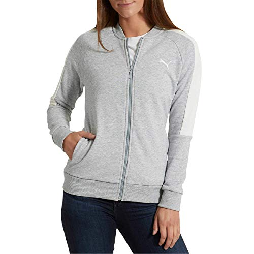 Puma Ladies Track Jacket (Lt Grey Heather, Medium)