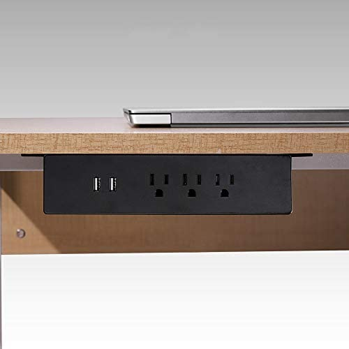 Haylink UL Approval Hang on Clamp Mount Desktop Sockets 3 USA Power 2 USB Charger Outlet Surge product image