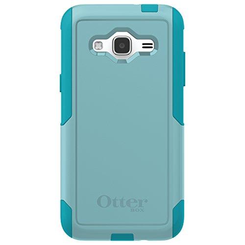 OtterBox COMMUTER SERIES Case for Samsung Galaxy J3/J3 V (Compatibility below) - Retail Packaging - AQUA SKY (AQUA BLUE/LIGHT TEAL)