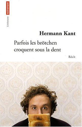 Price comparison product image Parfois les brötchen croquent sous la dent (French Edition)