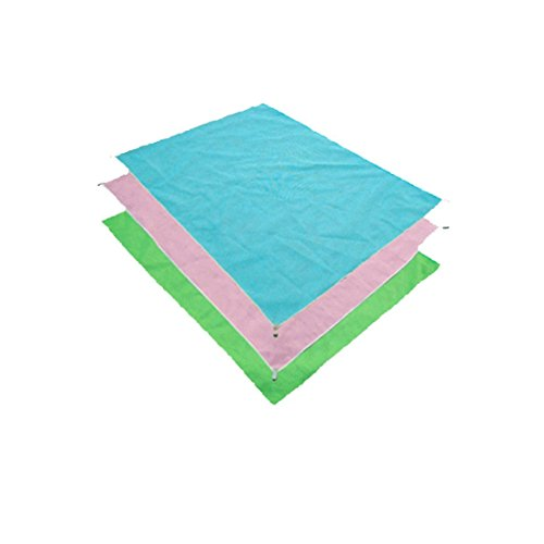 Magic Sand Free Mat (Green) | Best for Family Outdoor Events, Hiking, Picnic and Festival