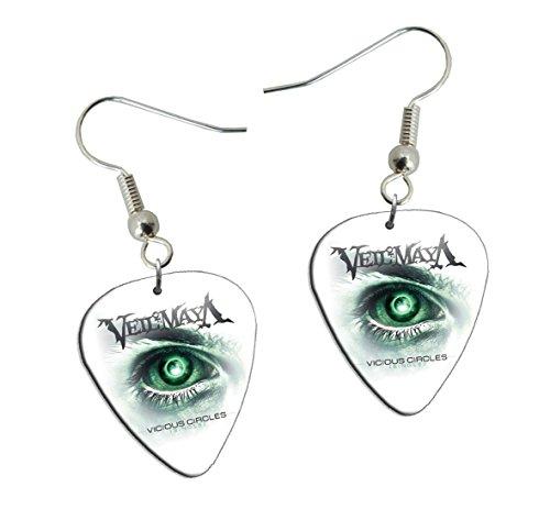 Veil Of Maya Gitarre Plektrum Earrings Ohrringe (F1)