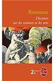 discours sur les sciences et les arts - Lgf - 31/03/2004