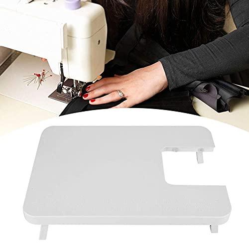Duokon Accesorios para máquinas de Coser para el hogar, Tablero de extensión de Mesa de extensión de Mesa de extensión de máquina de Coser Mini plástico de ABS