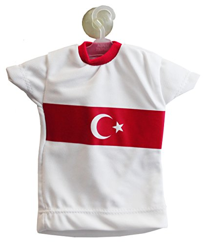 Sportif Türkei - Mini Trikot - PKW Auto mit Haken (Weiß)